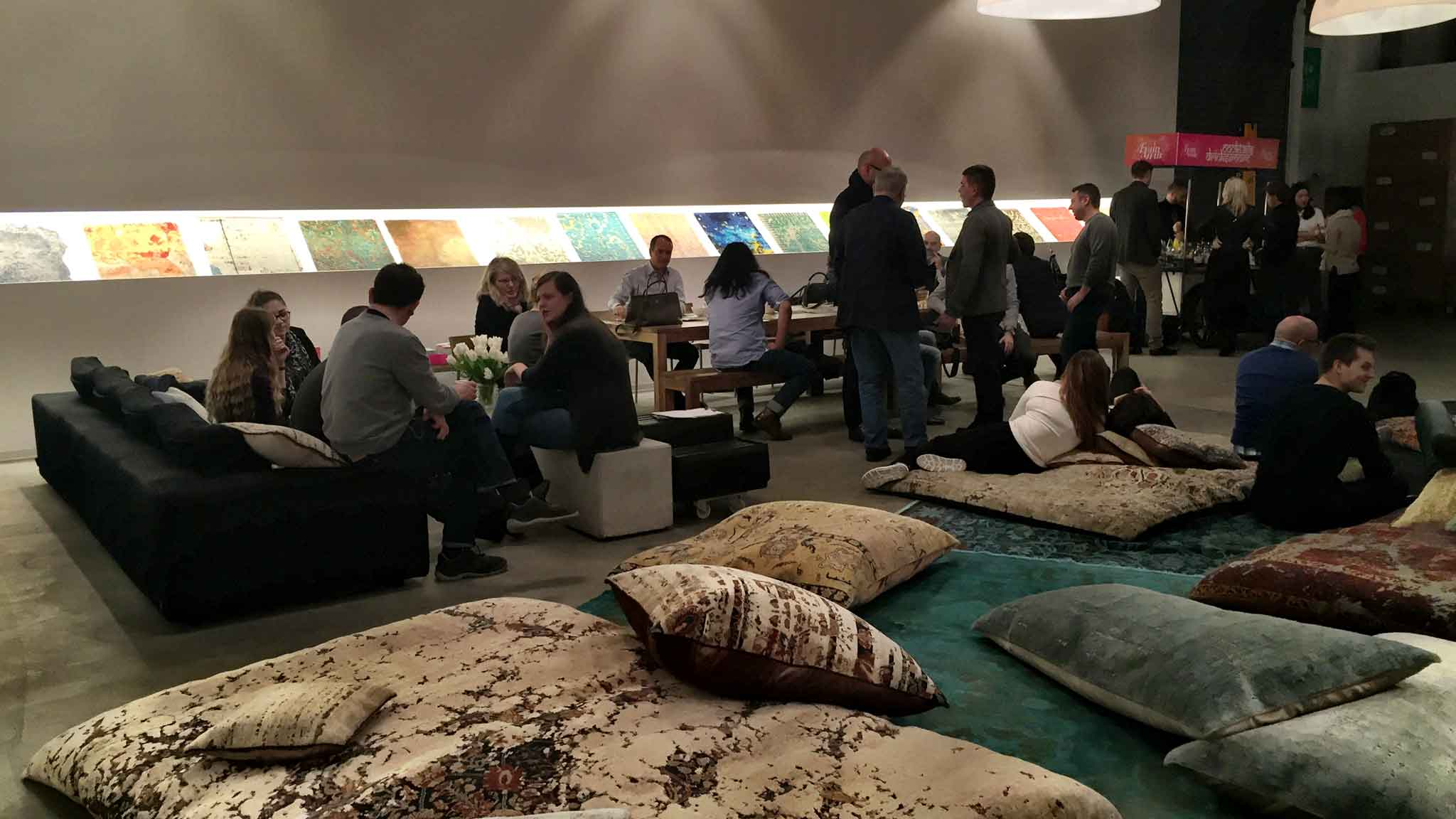 Guests and staff of Jan Kath relax after a full day during 'Family Affair' at Jan Kath | Image from The Ruggist