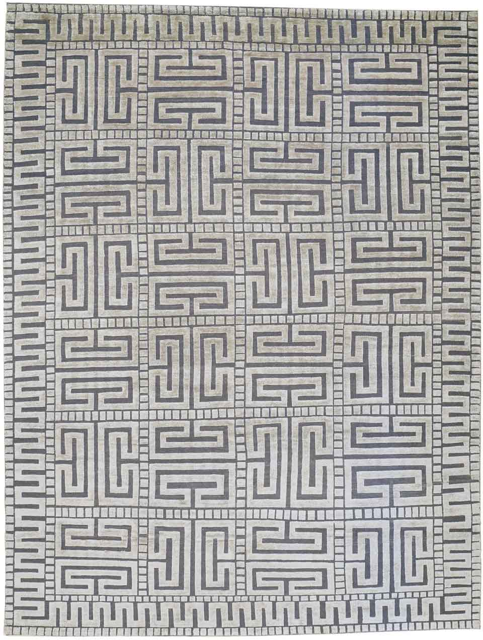 Ursula, India, Contemporary, 365 x 275 cm. Bamboo silk pile on a flatwoven wool background. Alberto Levi Gallery, Milano. | Image courtesy of Alberto Levi