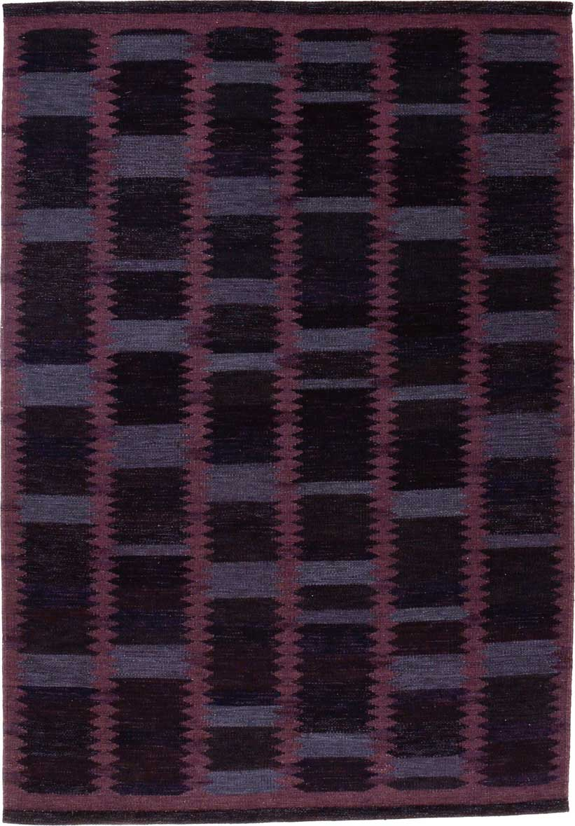 Barbara, India, Contemporary, 295 x 205 cm. Swedish flatweave technique in wool and chenille. Alberto Levi Gallery, Milano. | Image courtesy of Alberto Levi