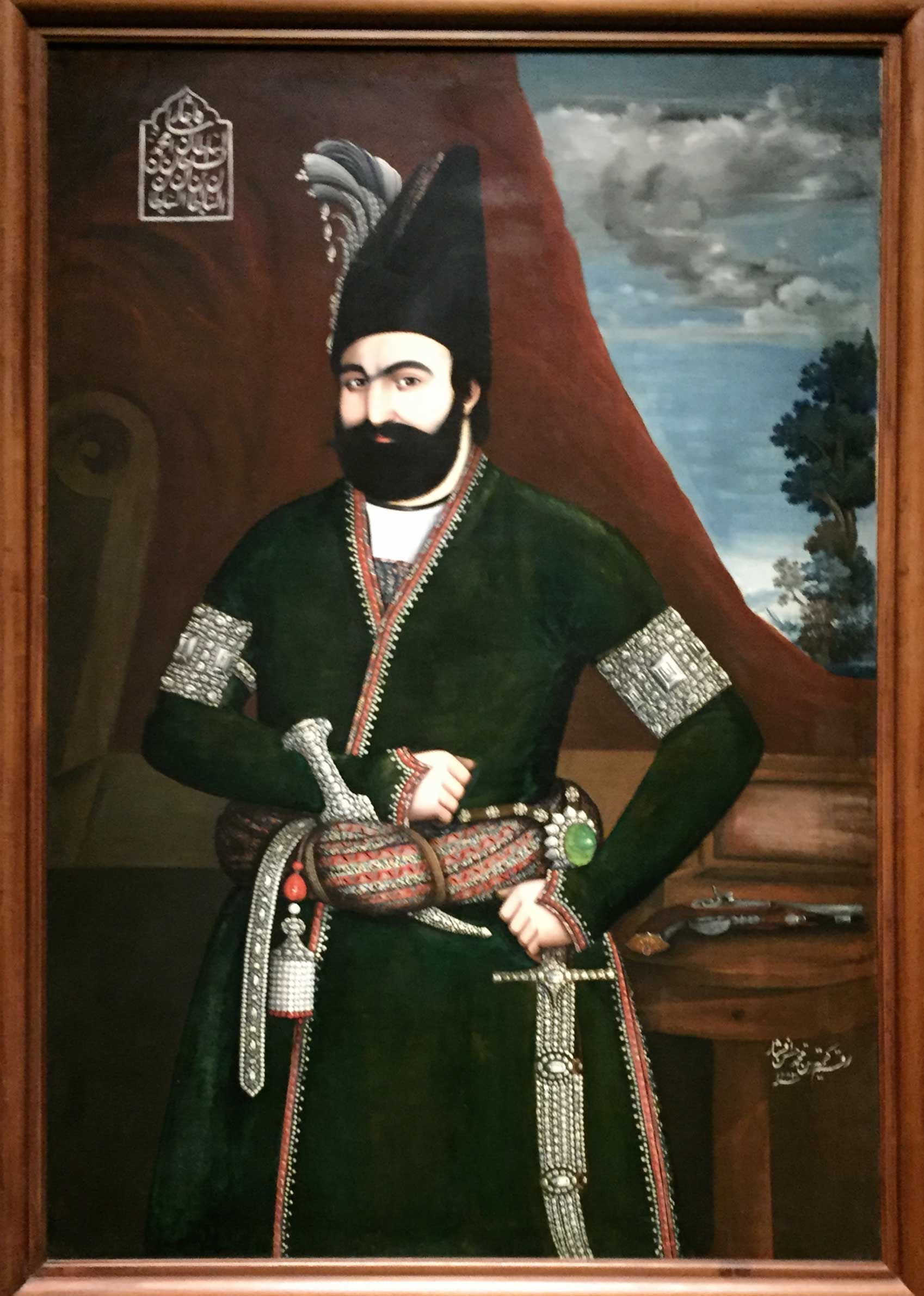 Portrait of Muhammad Shah - The Cleveland Museum of Art | Image by The Ruggist