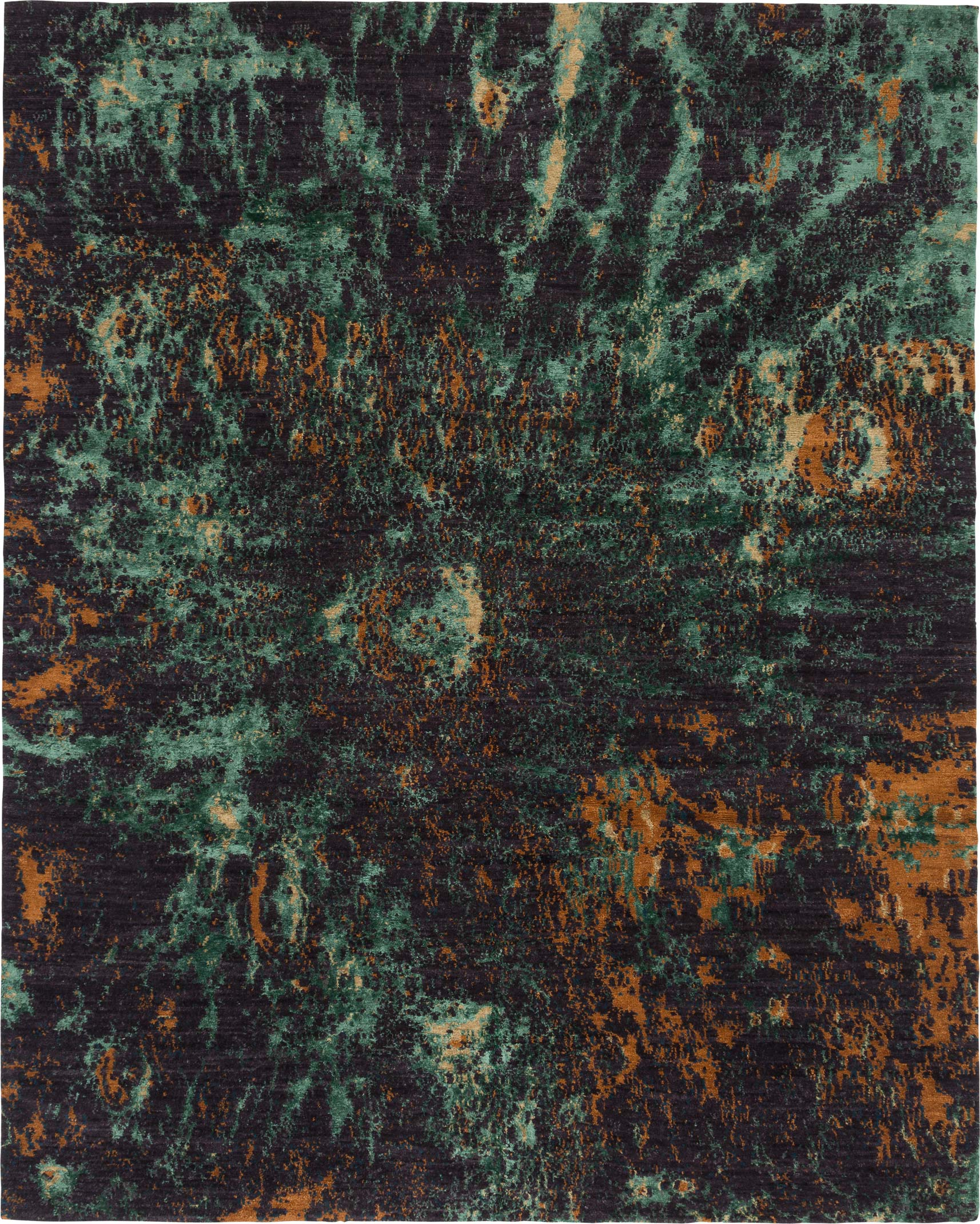 Moonscape shown in colour Malachite by Tufenkian | Image courtesy of Tufenkian