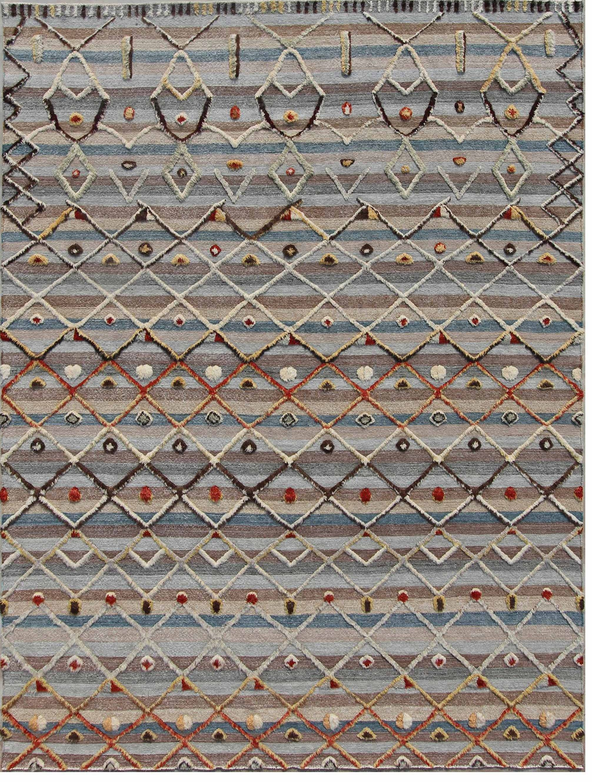 Un-Official Selection, Best Flatweave Design: Souf Collection, BJT 18, Art Resources - www.artresources.us | Image courtesy of Art Resources/Domotex.