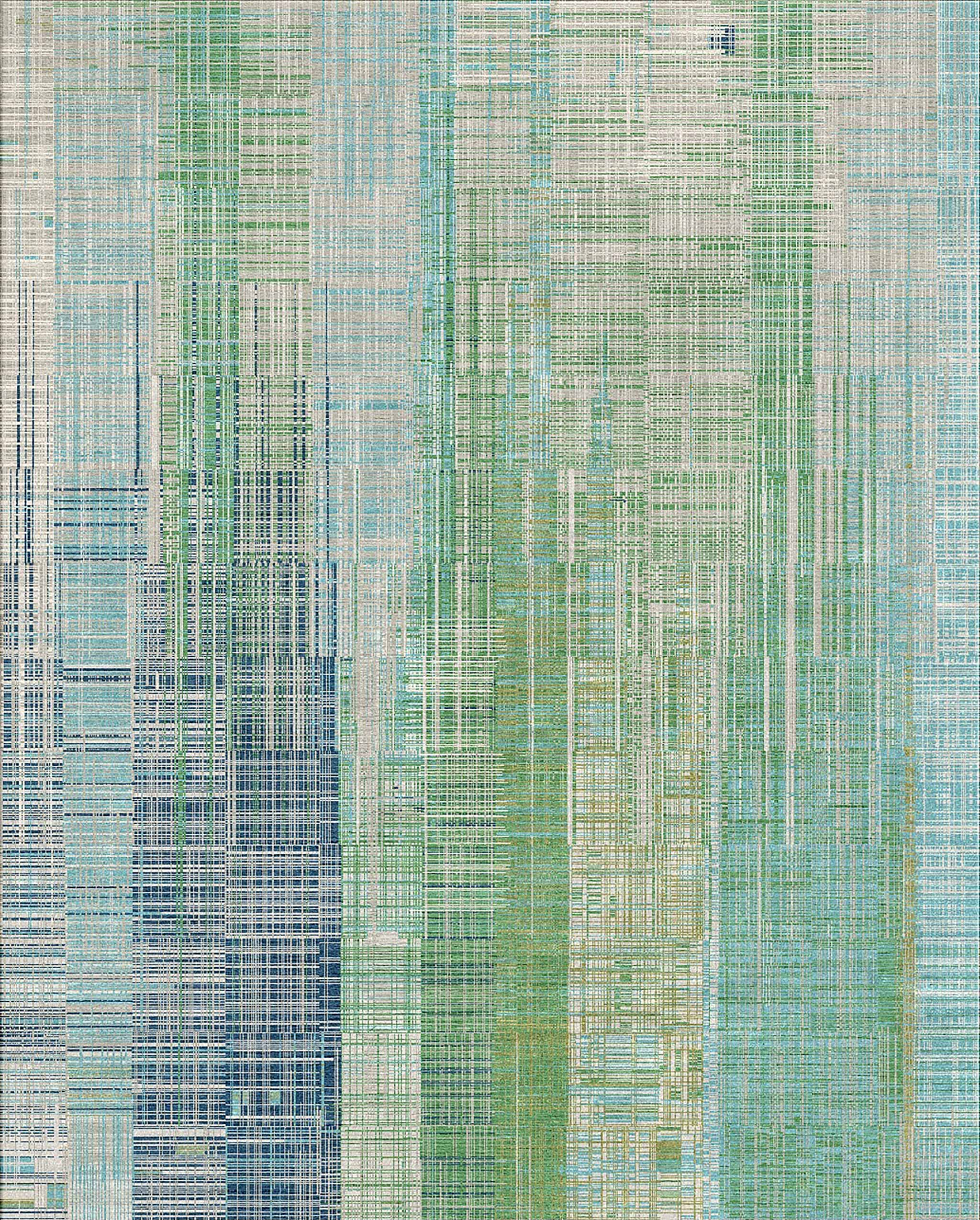 Un-Official Finalist, Best Modern Collection: Unstring by Kavi, Jaipur Rugs - www.jaipurrugsco.com | Image courtesy of Jaipur Rugs/Domotex.