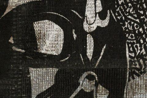 'Darth Vader' is an eponymously named limited edition rug by Hadi Maktabi. | Image courtesy of Hadi Maktabi.
