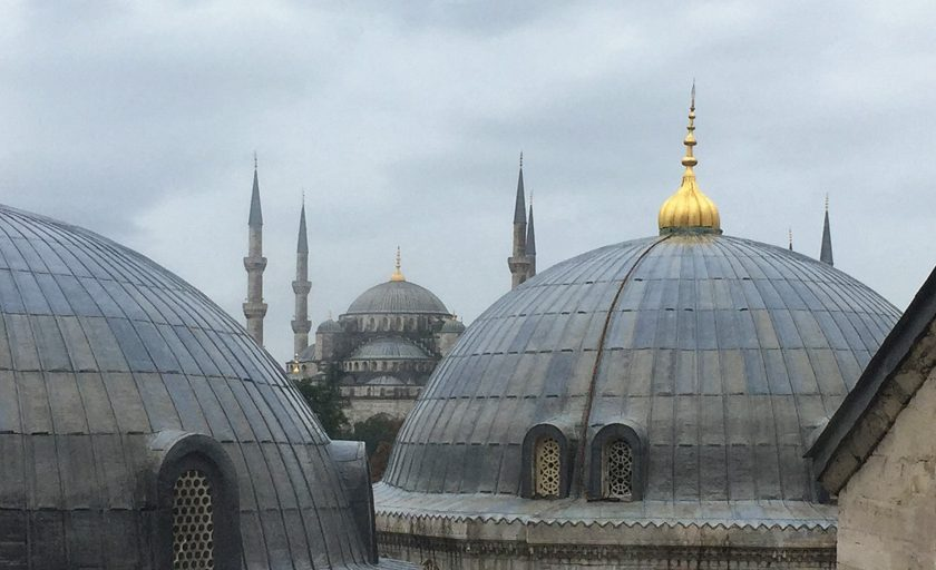 Over Coffee Istanbul w/Carol Sebert of Creative Matters. | Image courtesy of The Ruggist.