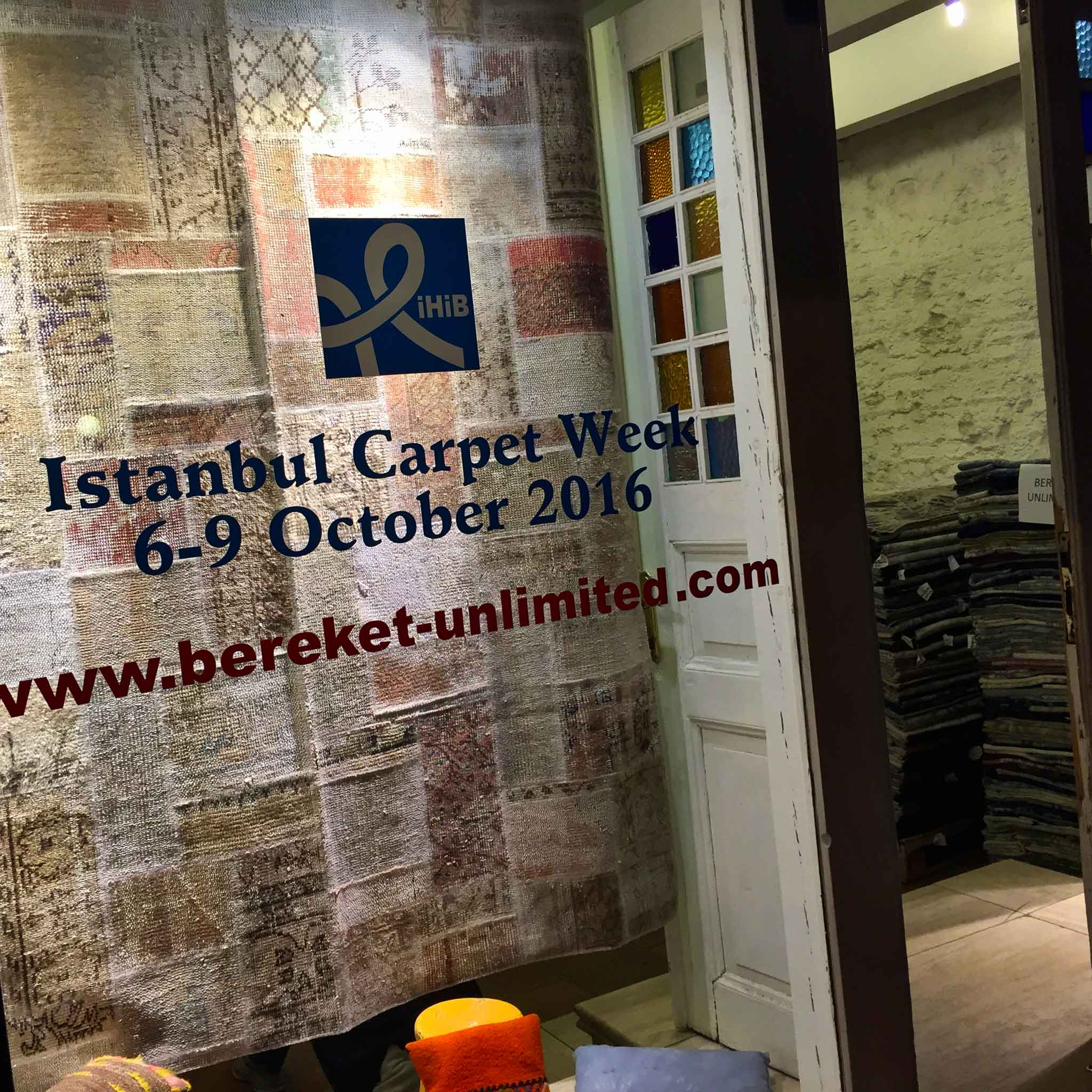 Bereket Unlimited in Sultanahmet, Istanbul, Turkey welcome attendees and delegates during the inagural Istanbul Carpet Week. | Image by The Ruggist.