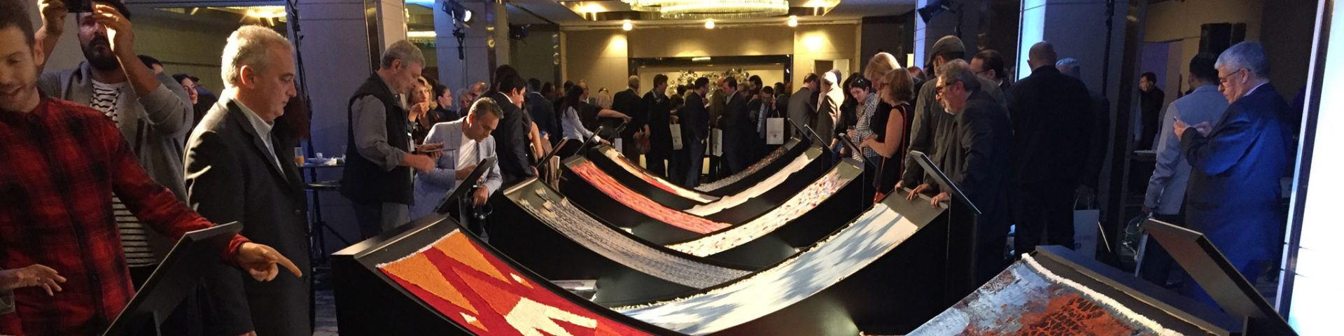Guests from Turkey and delegates from afar gathered on Friday, 7 October 2016 for the Gala including the 10th Annual IHIB National Carpet Design Awards. | The Ruggist.