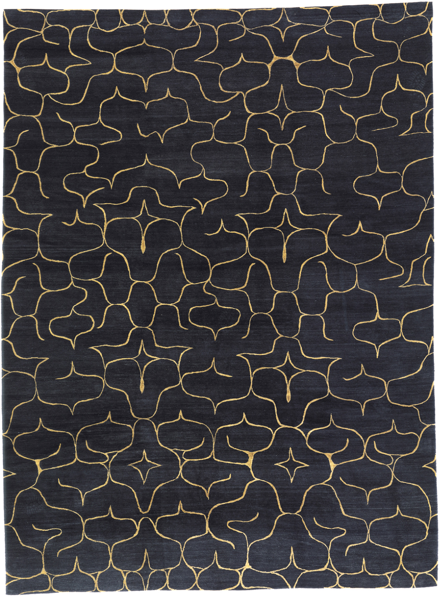 'Ainu' shown in colour 'Ink' by Odegard Carpets. | Image courtesy of Odegard Carpets.