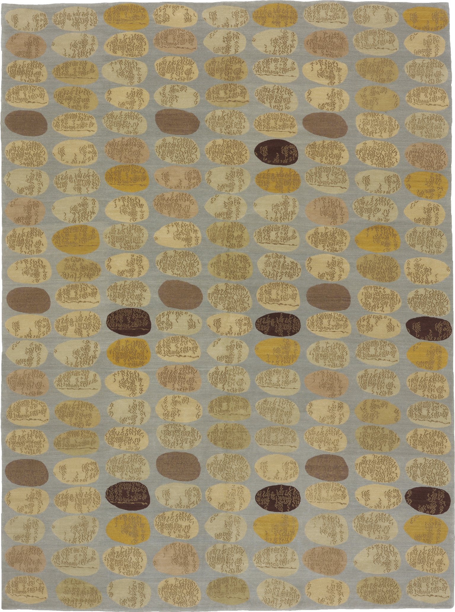 'Story Stones' from the 'Donghia for Odegard' Collection by Odegard, circa 2000 C.E. | Image courtesy of Odegard Carpets.