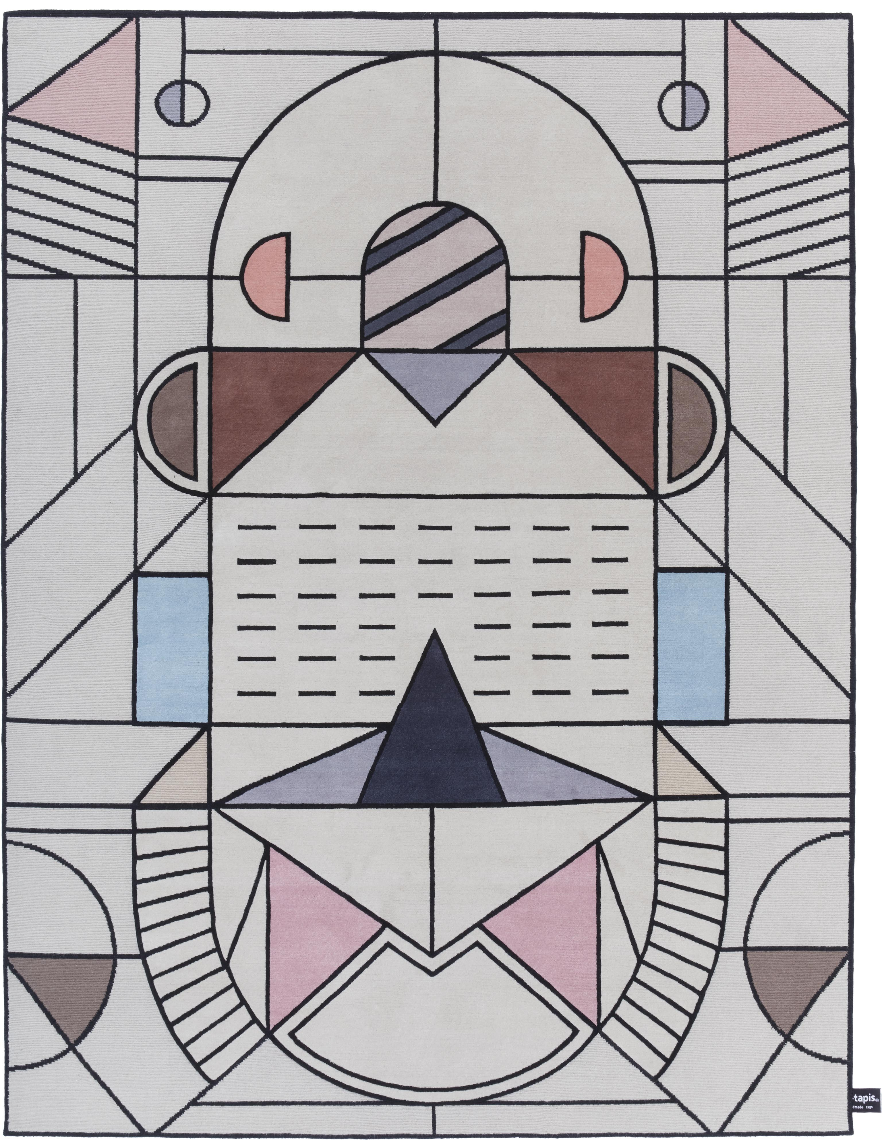 'Cartesio Outline' by Elena Salmistraro for cc-tapis. | Image courtesy of cc-tapis.