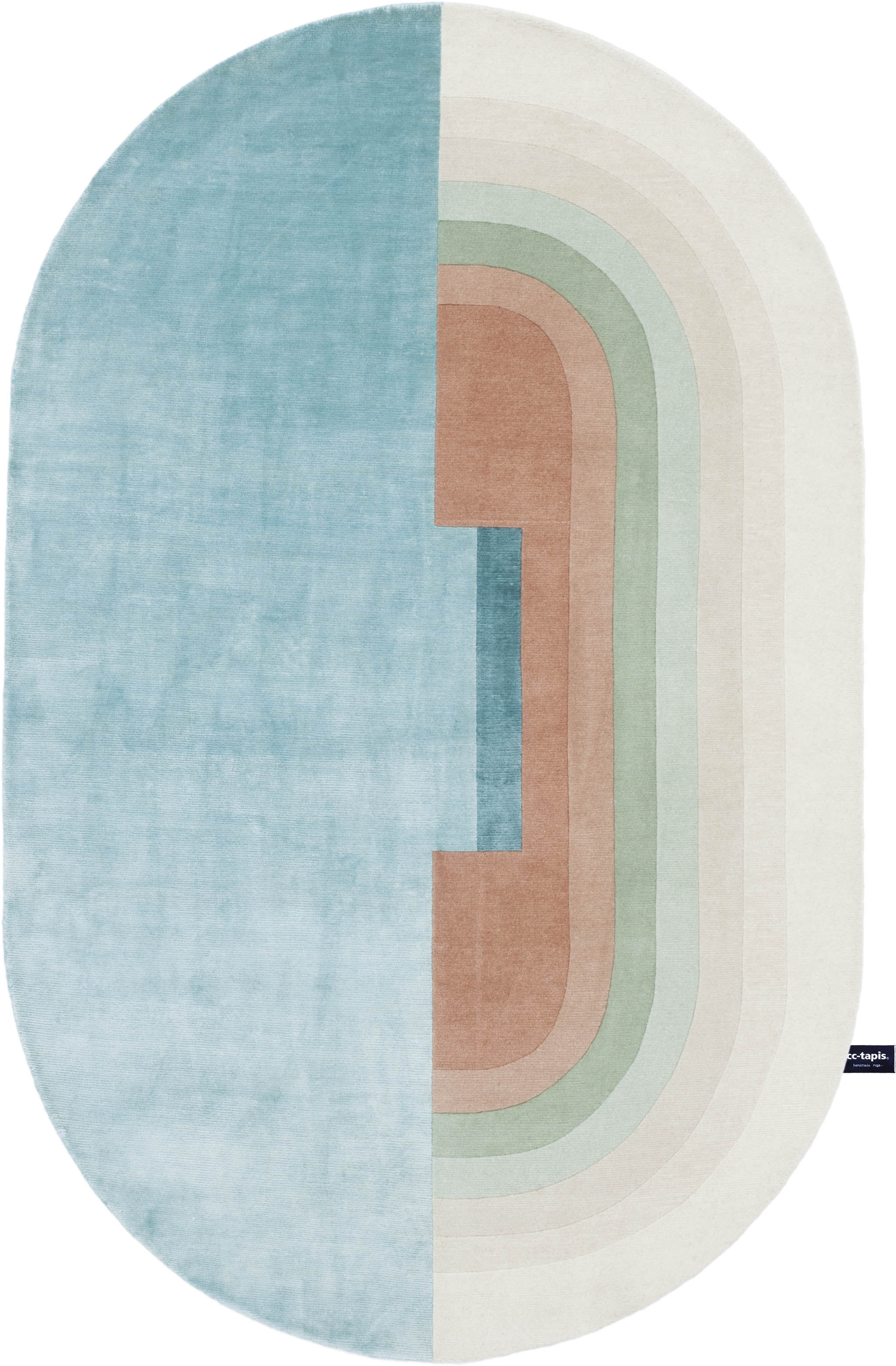 'Giudecca' by Zanellato Bortotto from the Signature Collection of cc-tapis. | Image courtesy of cc-tapis.